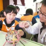 學童做「手」竹燈籠 「守」護竹山竹藝